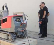 Demostración de HAMMELMANN de los robots de AQUAJET SYSTEMS AB